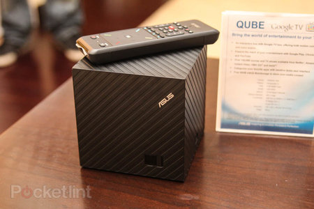 Asus Qube: Google TV gets a new face at CES, we go hands-on - photo 1