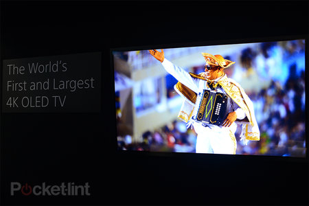 Sony 56-inch 4K OLED prototype TV demoed, we go eyes-on
