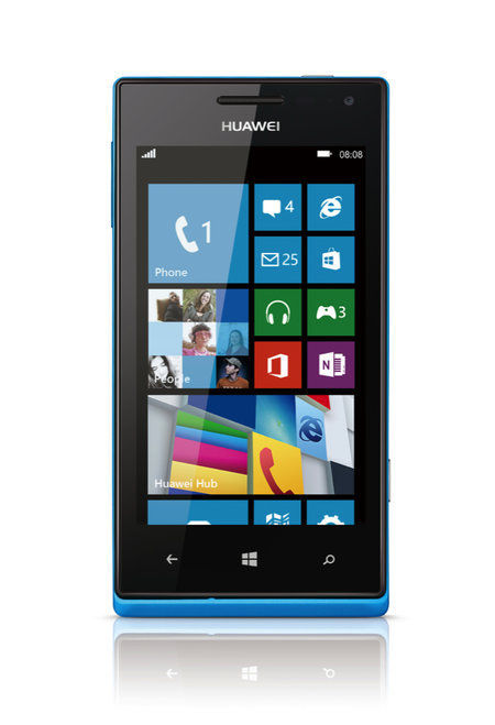 Huawei Ascend W1 Windows Phone launched, coming to O2 UK - photo 2
