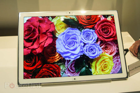 The Panasonic 4K 20-inch Windows 8 tablet, why not? We go hands-on