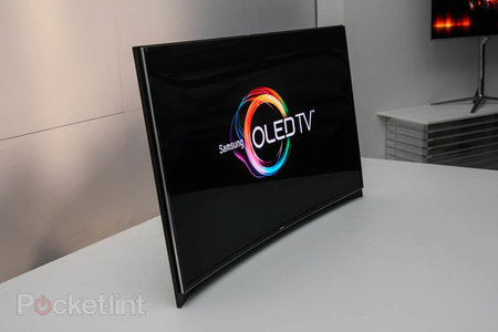 Samsung and LG fight for world's first curved OLED screen title