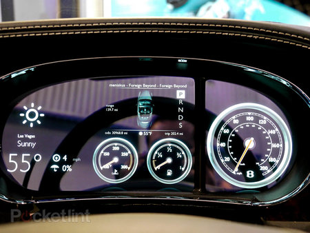 QNX car platform 2.0 concept in a Bentley Continental GTC pictures and hands-on - photo 17