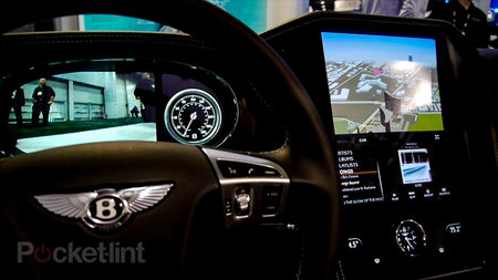 QNX car platform 2.0 concept in a Bentley Continental GTC pictures and hands-on - photo 23