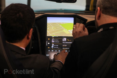 QNX car platform 2.0 concept in a Bentley Continental GTC pictures and hands-on - photo 3