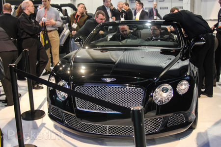 QNX car platform 2.0 concept in a Bentley Continental GTC pictures and hands-on - photo 4