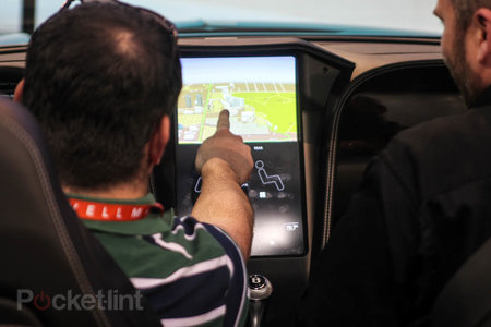 QNX car platform 2.0 concept in a Bentley Continental GTC pictures and hands-on - photo 6