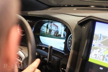 QNX car platform 2.0 concept in a Bentley Continental GTC pictures and hands-on - photo 8