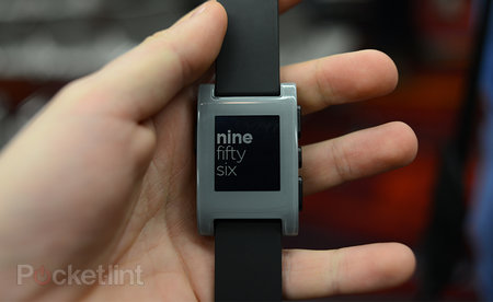 Pebble smart watch pictures and hands-on
