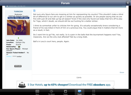 APP OF THE DAY: The Spurs Web review (iPad and iPhone) - photo 3