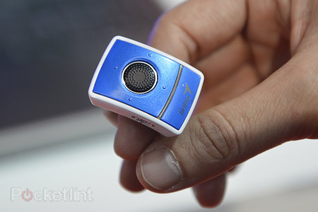Genius 'Ring Presenter' is a computer mouse that you wear on your finger