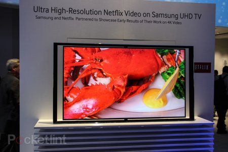 Netflix 4K Ultra High Definition video streaming pictures and hands-on