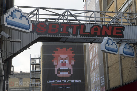 Disney's Wreck It Ralph turns London's Brick Lane into Augmented Reality playground - photo 5
