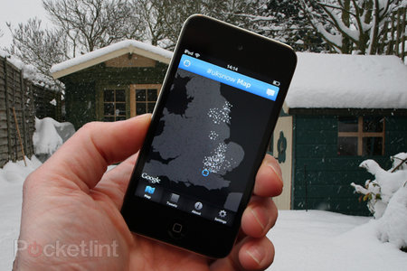 APP OF THE DAY: UK Snow Map (#uksnow) review (iPhone/iPod touch)