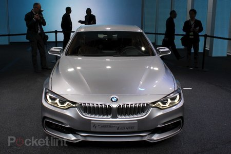 BMW 4-Series Coupe Concept pictures and hands-on - photo 2