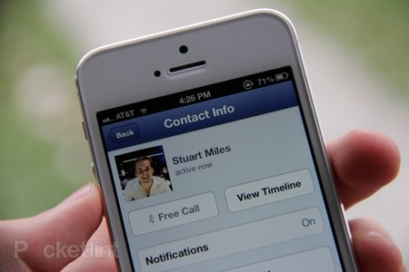 Facebook Messenger free VOIP calling rolls out to US iPhone users