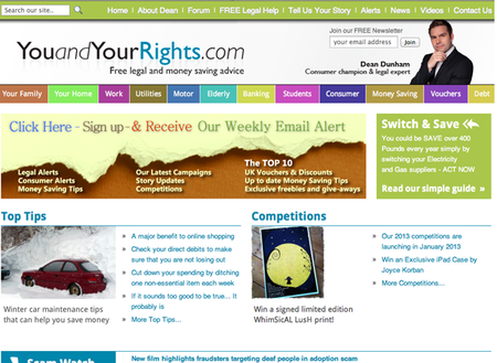 WEBSITE OF THE DAY: You and Your Rights