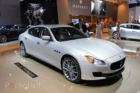 Maserati Quattroporte pictures and hands-on