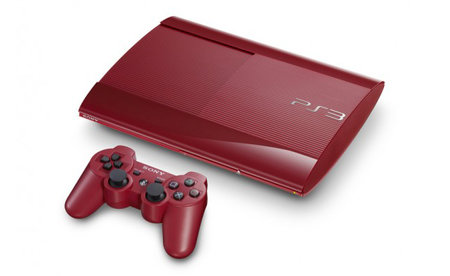Sony preps garnet red and azurite blue superslim PS3s for Japan - photo 1
