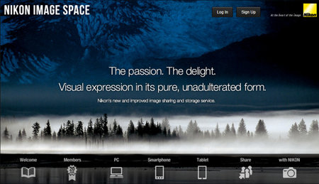 Nikon Image Space photo hosting site launches 28 January