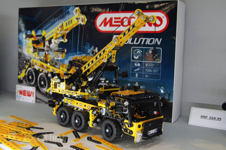 Meccano Evolution shrinks parts for more detailed models (pictures) - photo 6