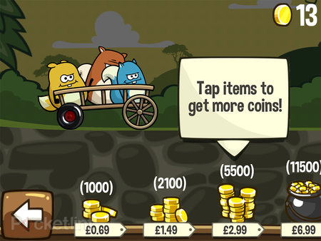 APP OF THE DAY: Noble Nutlings review (iOS) - photo 5