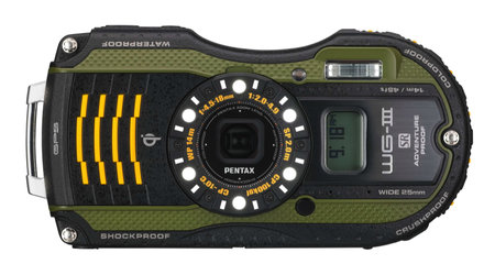 Pentax WG-3 GPS features Qi wireless charging, second display, is adventure proof - photo 4