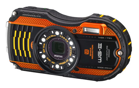 Pentax WG-3 GPS features Qi wireless charging, second display, is adventure proof - photo 6