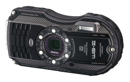 Pentax WG-3 GPS features Qi wireless charging, second display, is adventure proof - photo 8