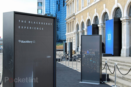 BlackBerry 10 launch: We're here in London