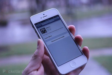 Report: iOS 6.1 adoption hits 22 per cent in only 36 hours