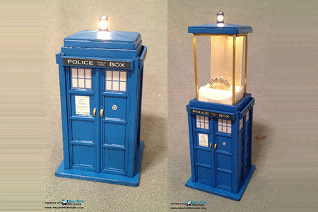 Valentine's Day tip: Ask your loved one to marry you using a TARDIS ring box