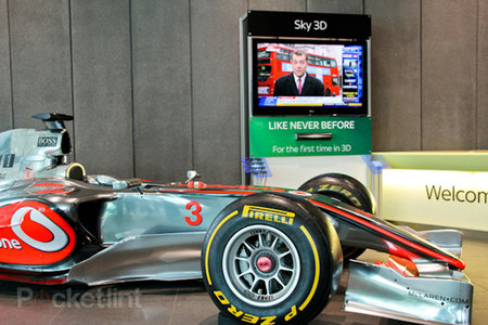 Sky: F1 to be broadcast in 3D for first time at Circuit de Catalunya