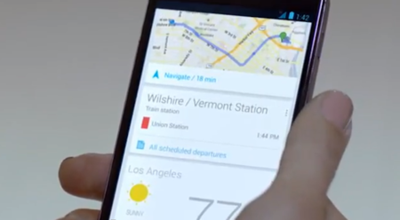 Google airs Nexus 4 commercial showing off Google Now during the Grammys