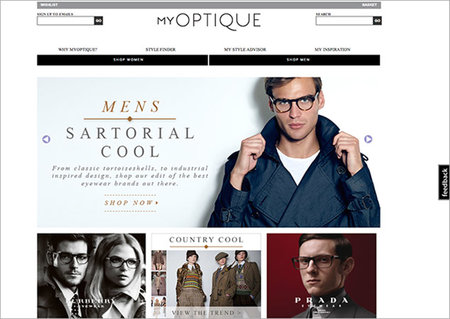 WEBSITE OF THE DAY: My Optique
