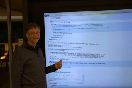 Bill Gates hosts Reddit AMA: Talks Windows 8, philanthropy and the 80-inch tablet he uses