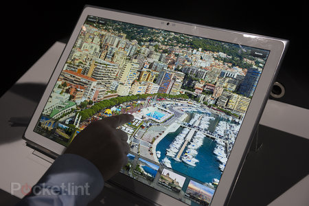 Panasonic 4K 20-inch tablet pictures and hands-on - photo 1