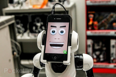 WowWee RoboMe: iPhone controlled robot that lets you call home