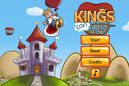 APP OF THE DAY: Kings Can Fly review (iPhone) - photo 1