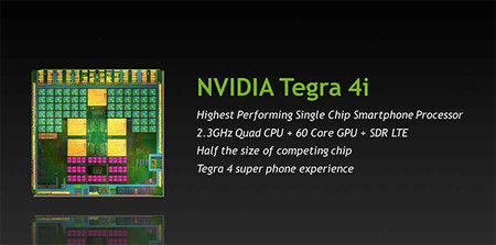 Nvidia launches Tegra 4i with integrated LTE processor