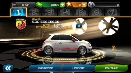 APP OF THE DAY: Asphalt 7: Heat review (iOS and Android) - photo 2