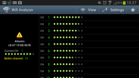 APP OF THE DAY: Wifi Analyzer review (Android) - photo 2