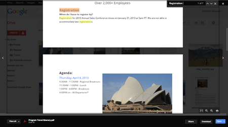 Google Drive web interface gains file previews, so you can find what you want - photo 2