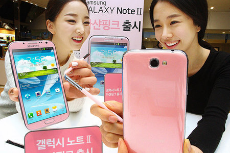 Martian Pink Samsung Galaxy Note 2 goes on sale in Korea