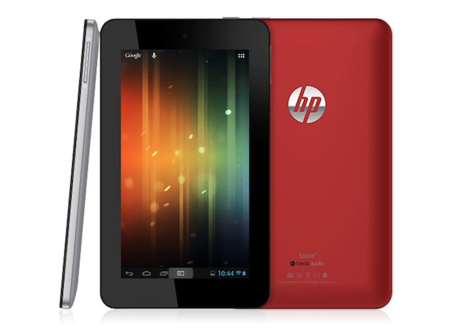 HP announces Slate 7 tablet running Android, available this May for $169