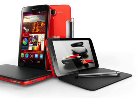 Alcatel One Touch Scribe Easy and Scribe HD go big on screens - photo 2