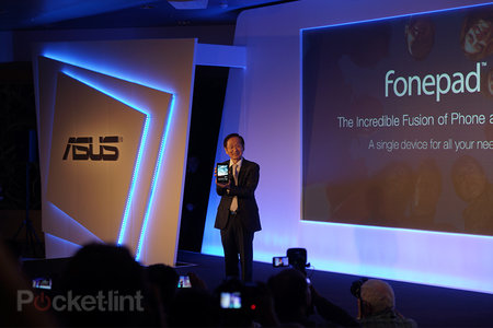Asus Fonepad announced: Be Dom Joly with this 7-inch tablet phone