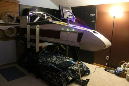 Star Wars X-Wing bed: You won't find this at IKEA