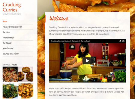 WEBSITE OF THE DAY: Cracking Curries