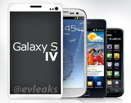 Samsung Galaxy S4 alleged specs and design leaked in new graphic (fake)