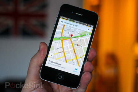 Google Maps for iPhone updated with faster search and contact access